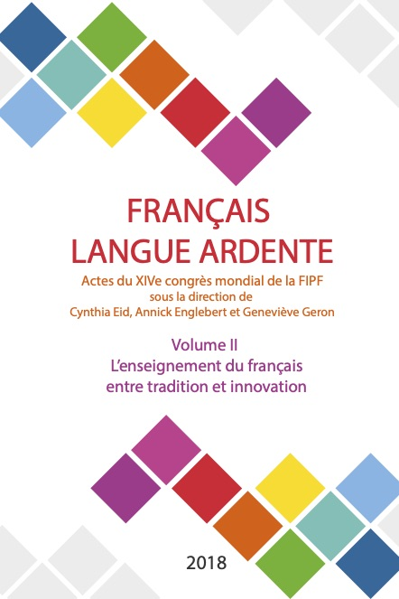 L'enseignement du français entre tradition et innovation – Vol. II