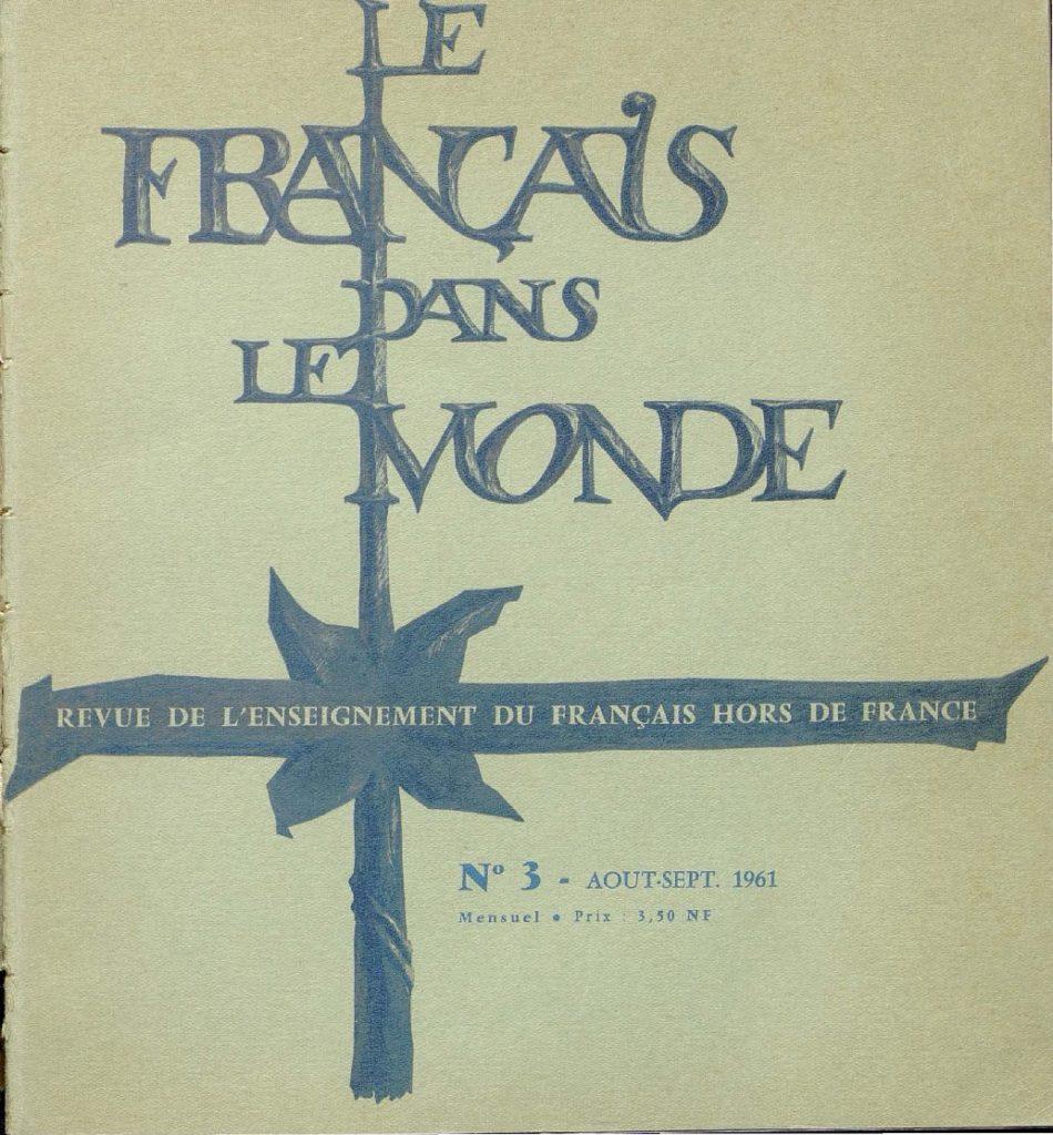 Le français dans le monde 03