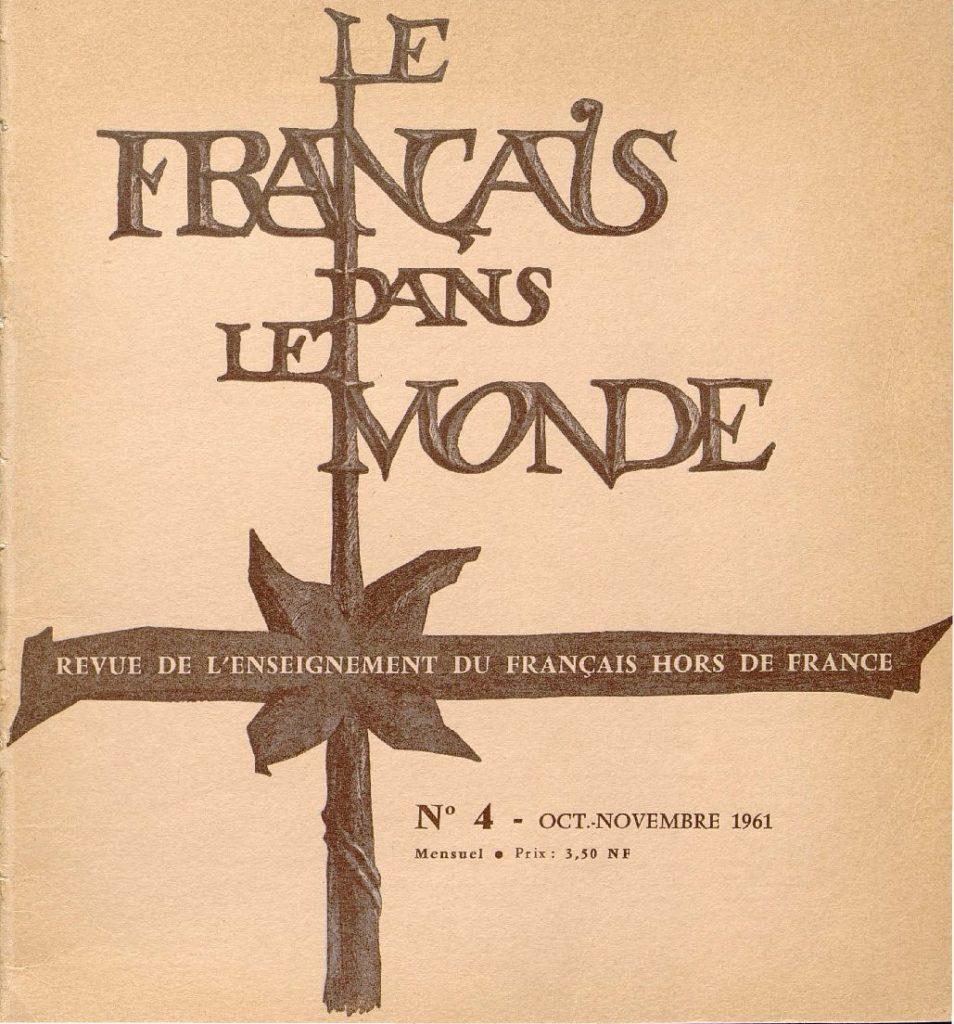 Le français dans le monde 04