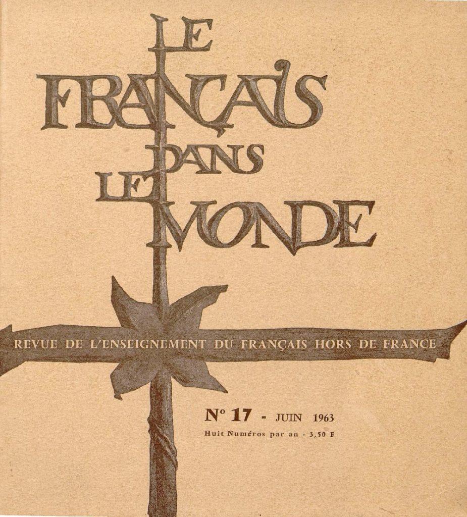 Le français dans le monde 17
