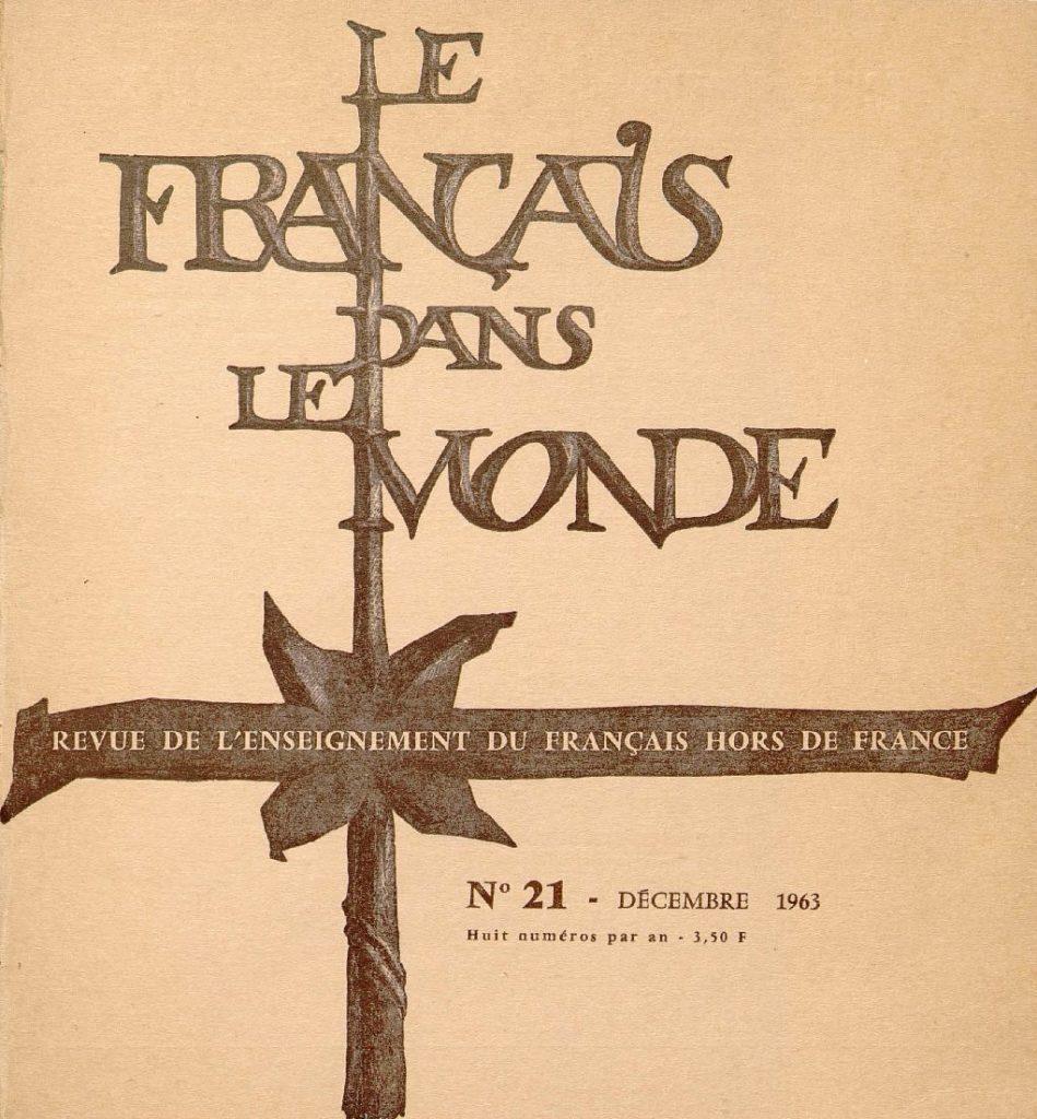 Le français dans le monde 21