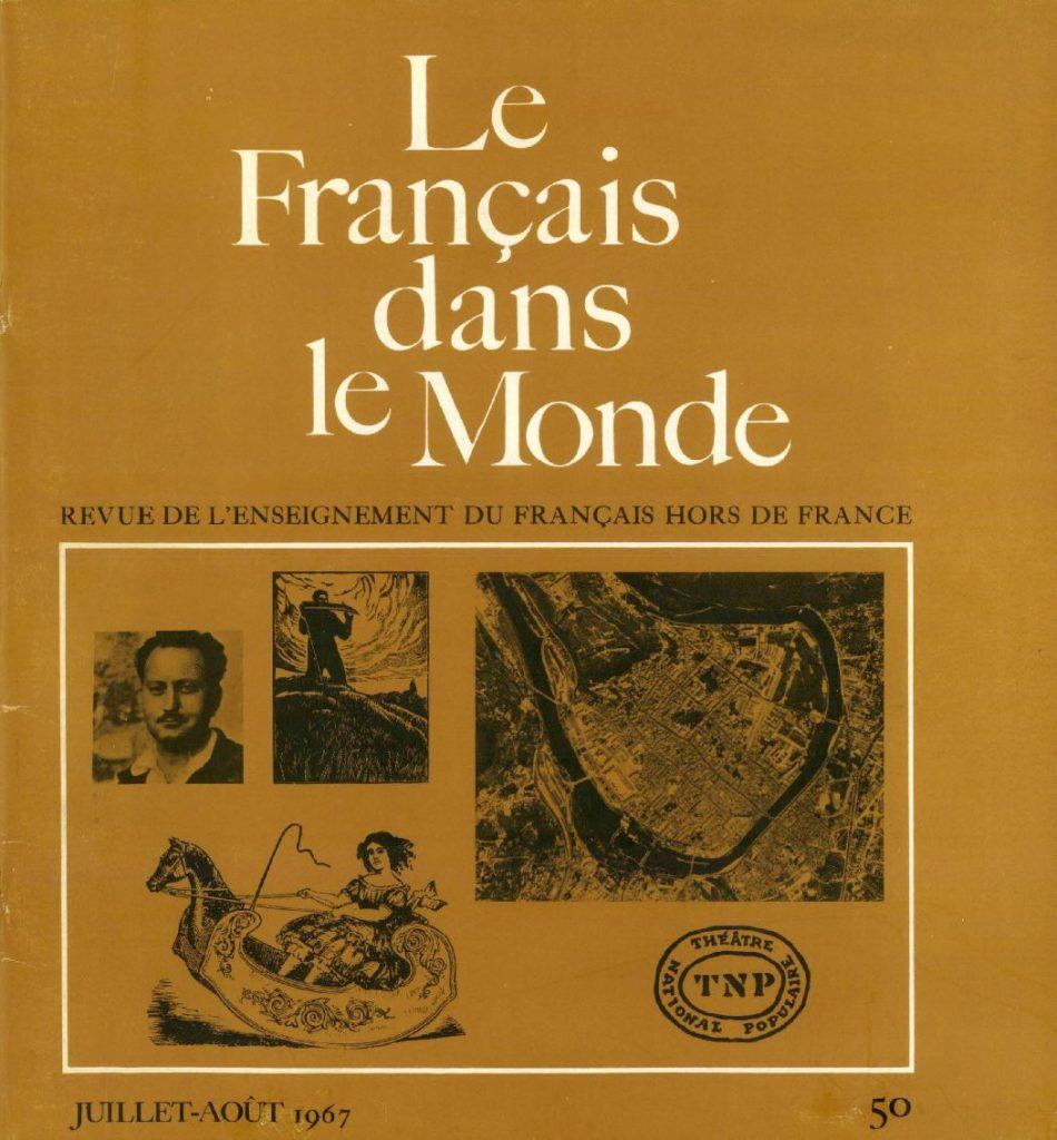 Le français dans le monde 50