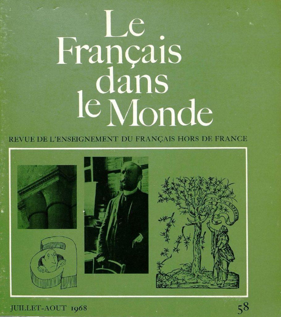 Le français dans le monde 58