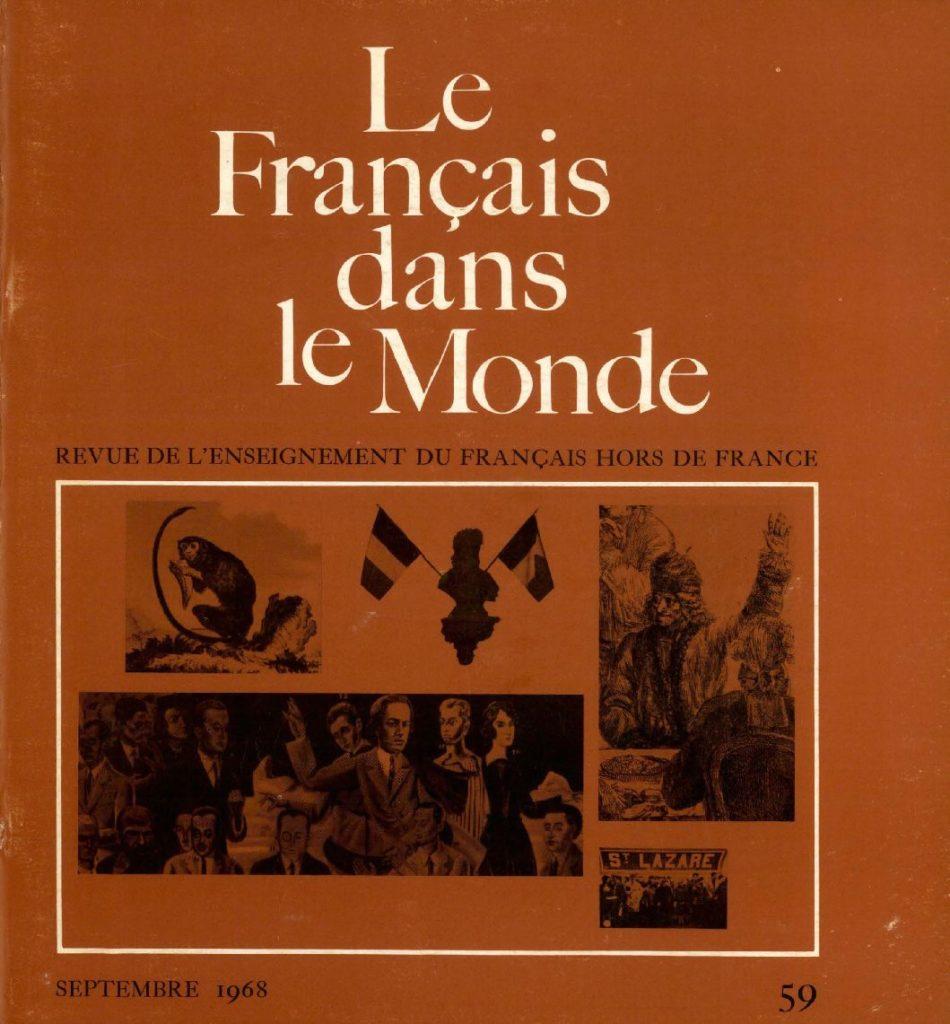 Le français dans le monde 59