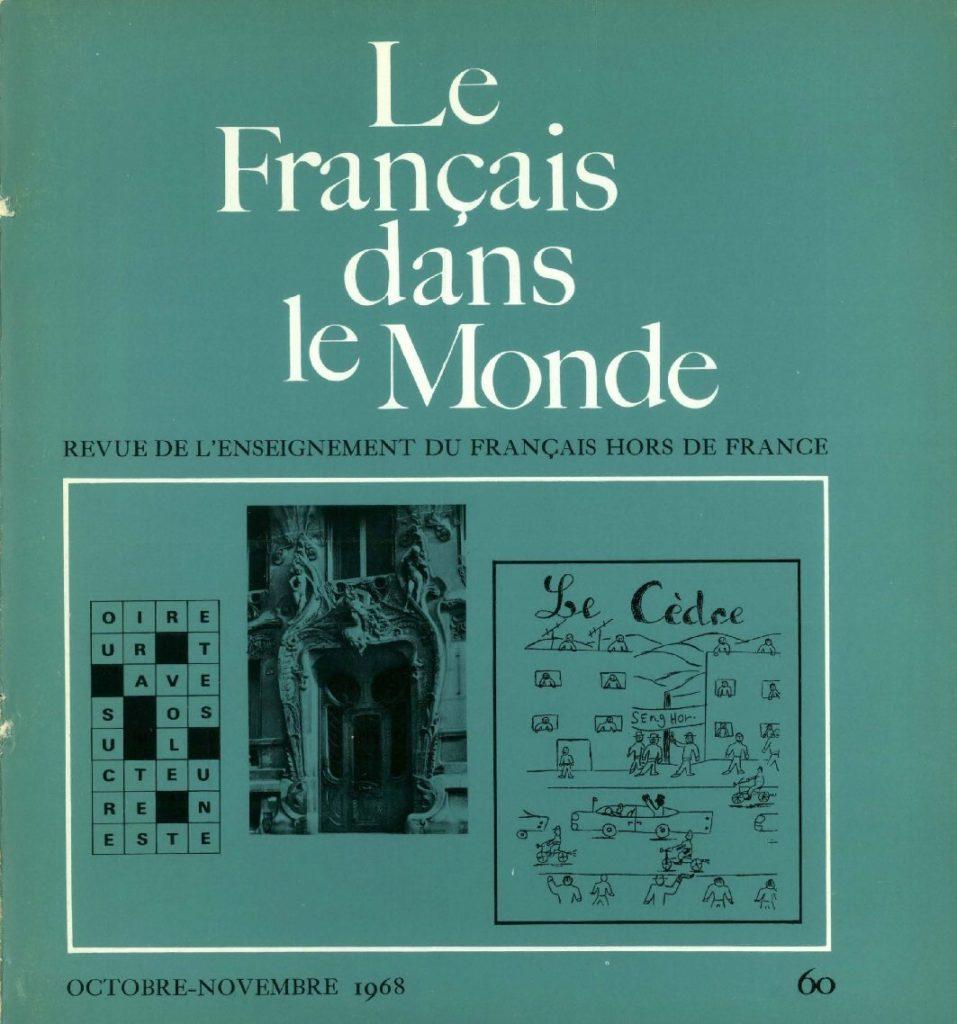 Le français dans le monde 60