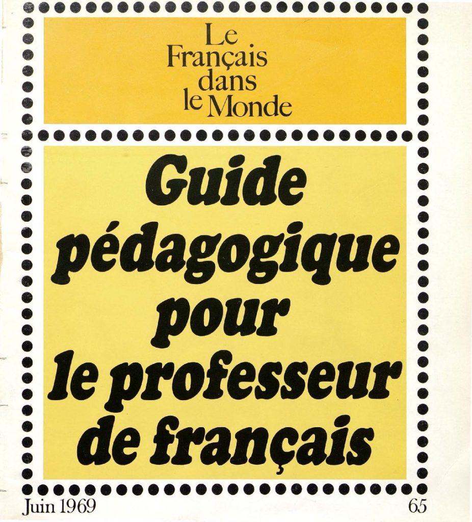 Le français dans le monde 65