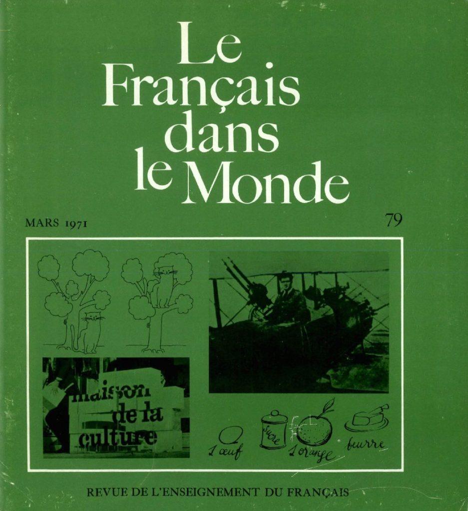 Le français dans le monde 79