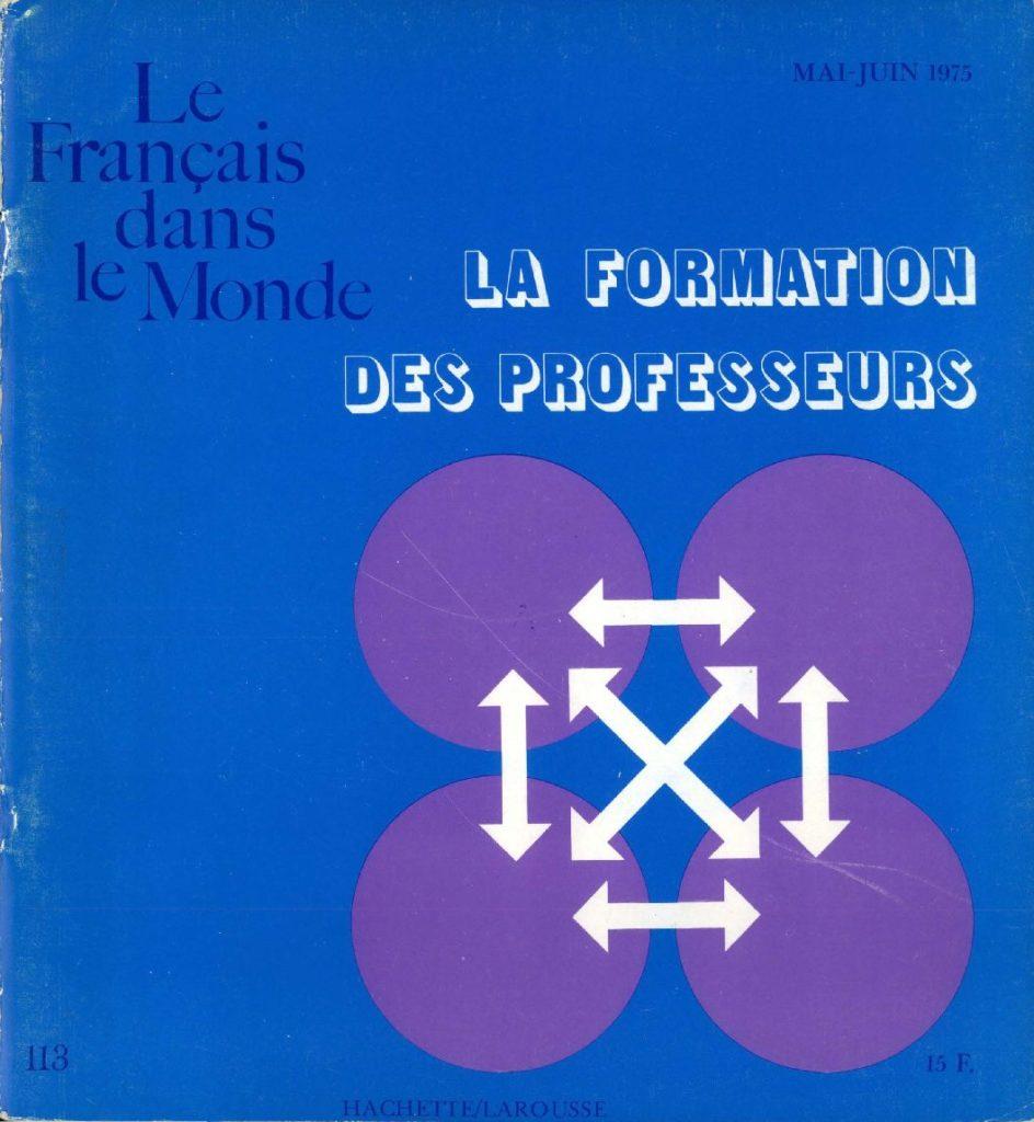 Le français dans le monde 113