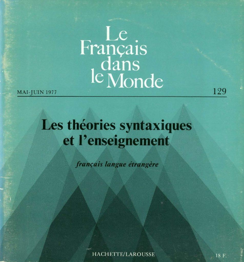 Le français dans le monde 129