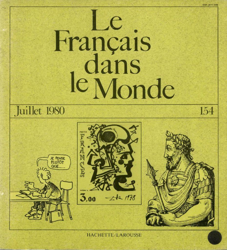 Le français dans le monde 154