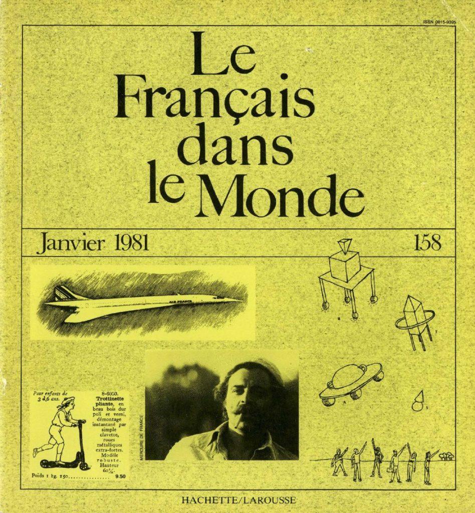 Le français dans le monde 158