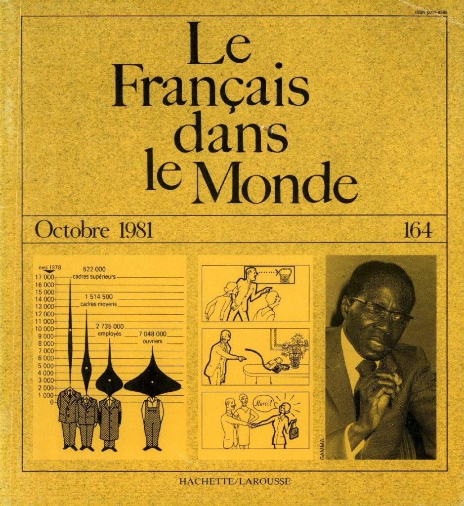 Le français dans le monde 164