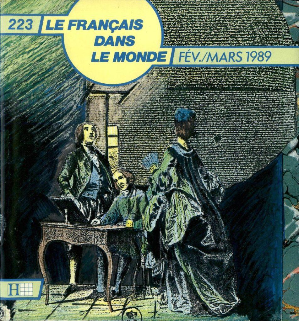 Le français dans le monde 223