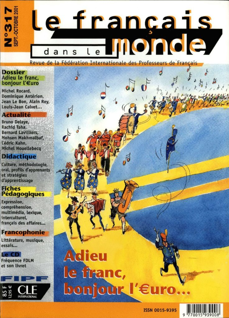 Le français dans le monde 317