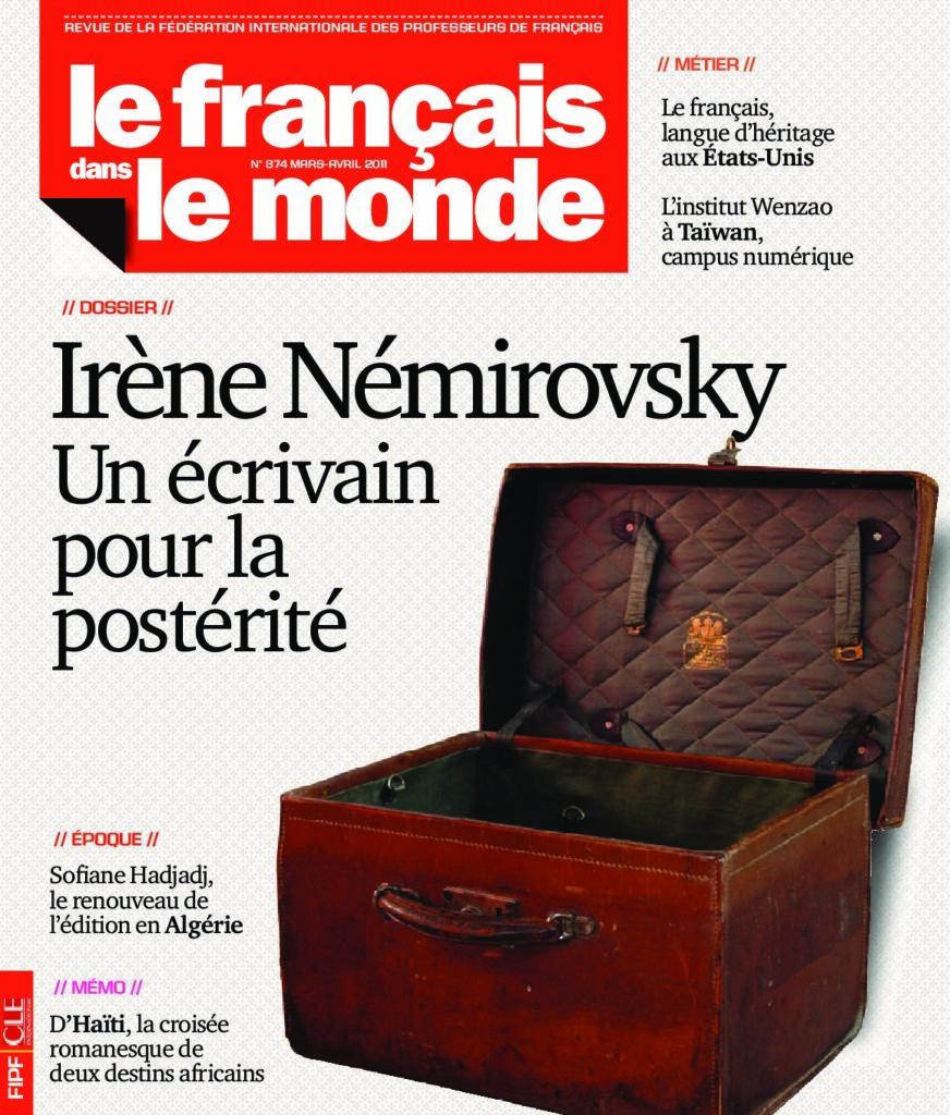 Le français dans le monde 374