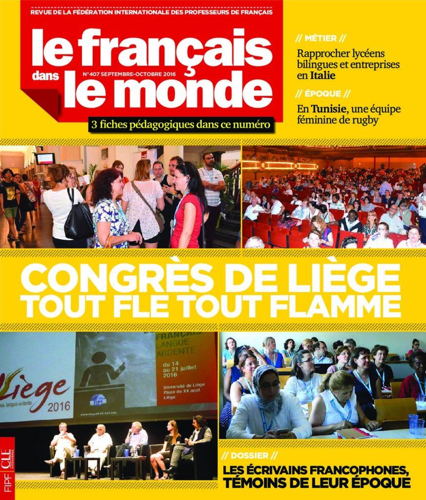 Le français dans le monde 407