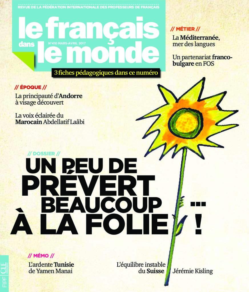 Le français dans le monde 410