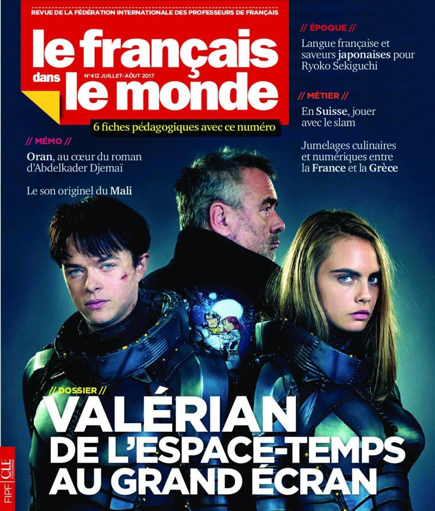 Le français dans le monde 412