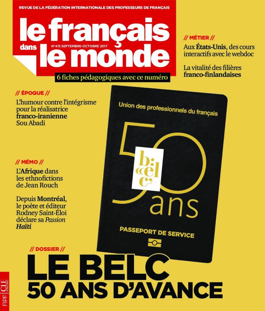Le français dans le monde 413