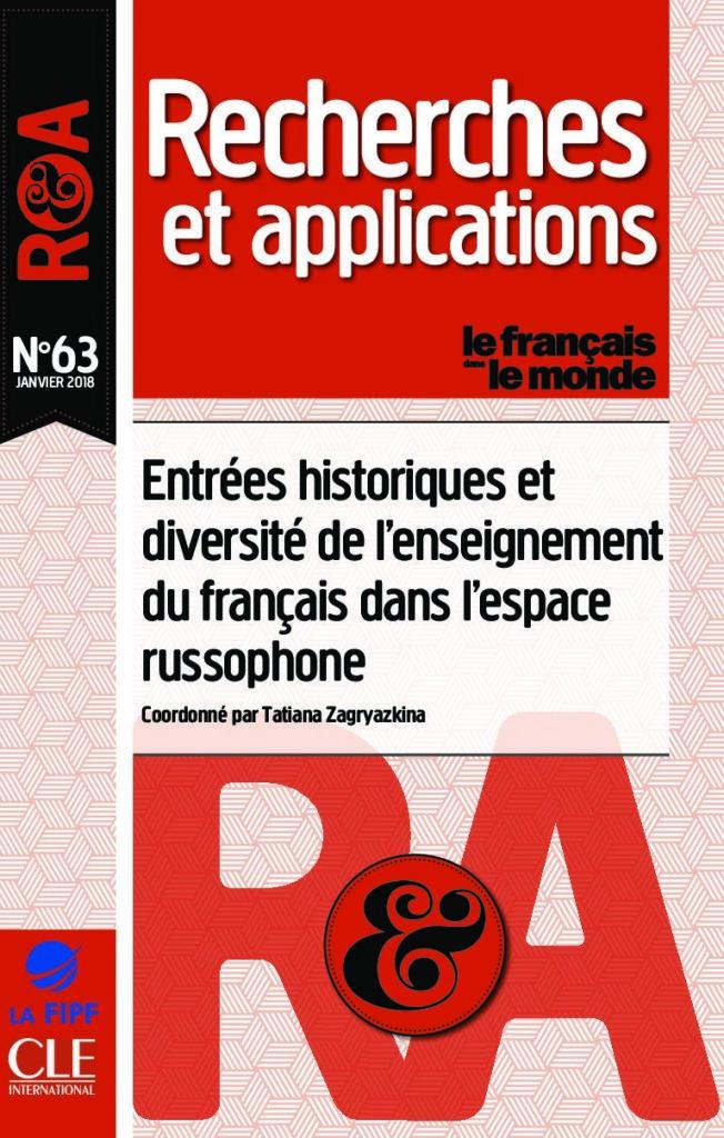 Entrées historiques et diversité de l'enseignement du français dans l'espace russophone 63