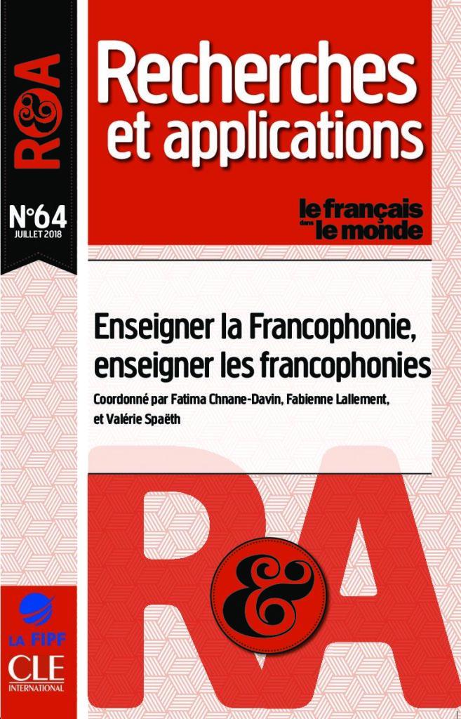 Enseigner la Francophonie, enseigner les francophonies 64